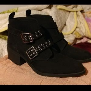 H&M Double buckle boots